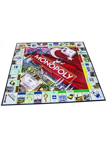 Hasbro Monopoly Türkiye Renkli